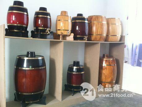 我厂独家产品雕花仿古木酒桶
