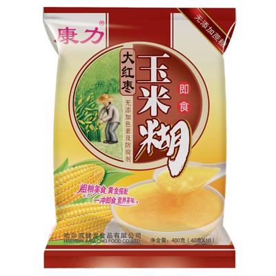 大红枣玉米糊