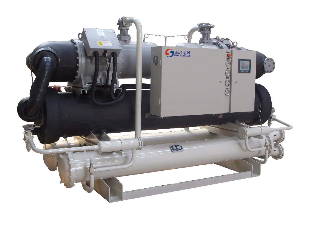 所在地:广东            日立螺杆冷水机组适用范围最宽广吐出冷媒