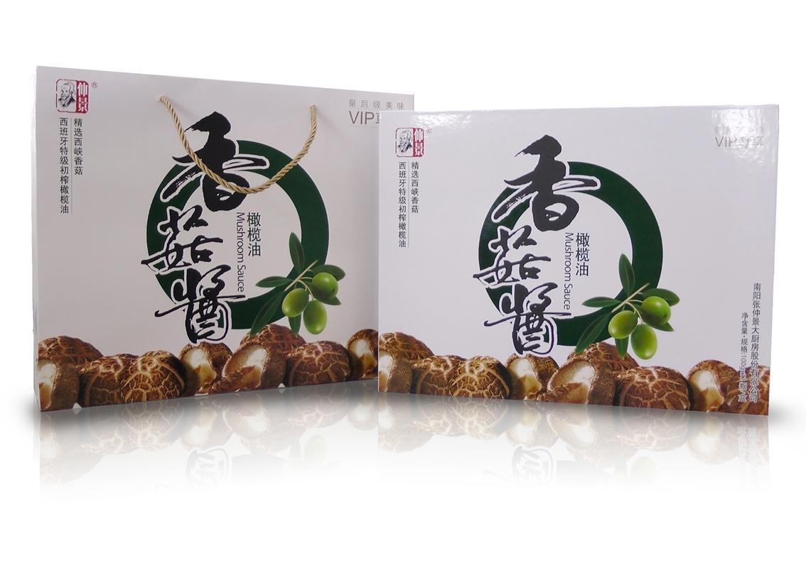 仲景香菇酱-橄榄油礼品装