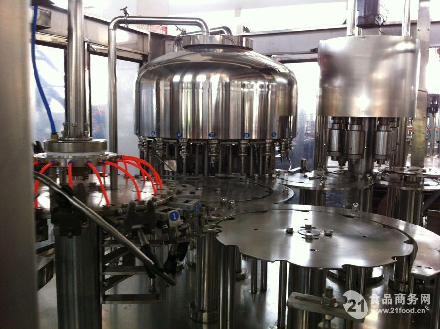 采用等压和负压灌装技术原理的自动灌装阀,由封盖机传动以保持同步