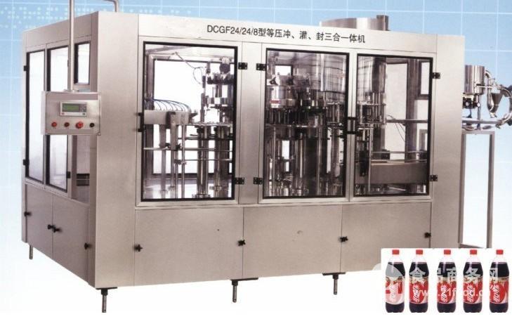 碳酸饮料灌装机械设备
