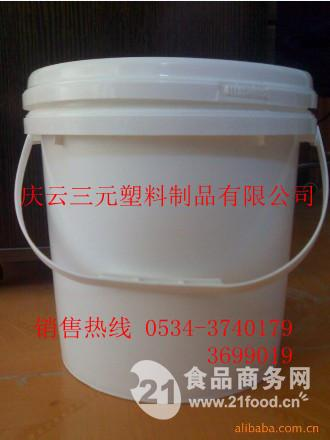 10L大口密封塑料桶