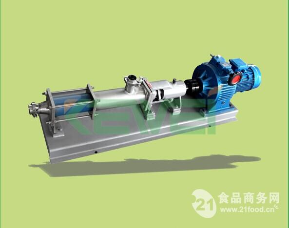 TGF型推进调速螺杆泵(强制喂料泵)