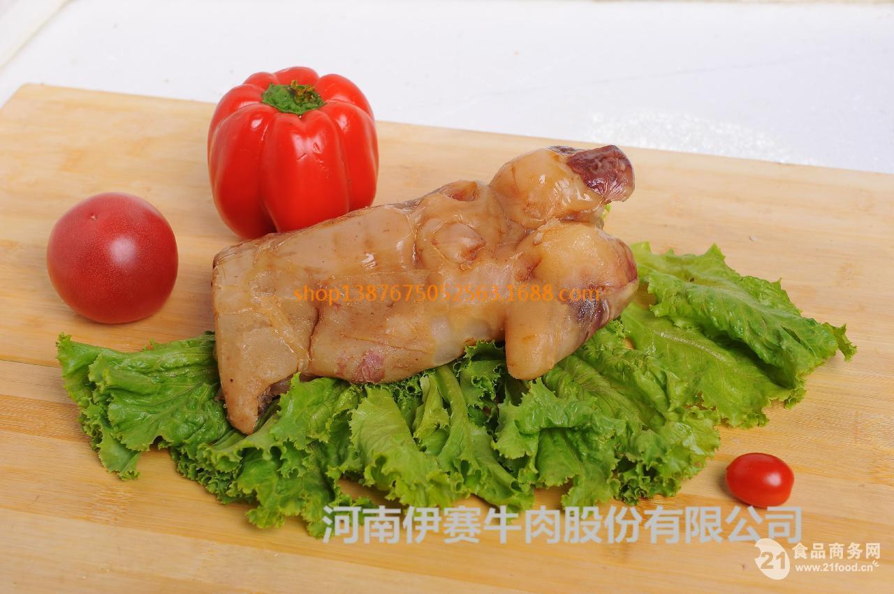 伊赛清真休闲牛肉制品五香熟牛蹄筋批发价格@焦作 酱