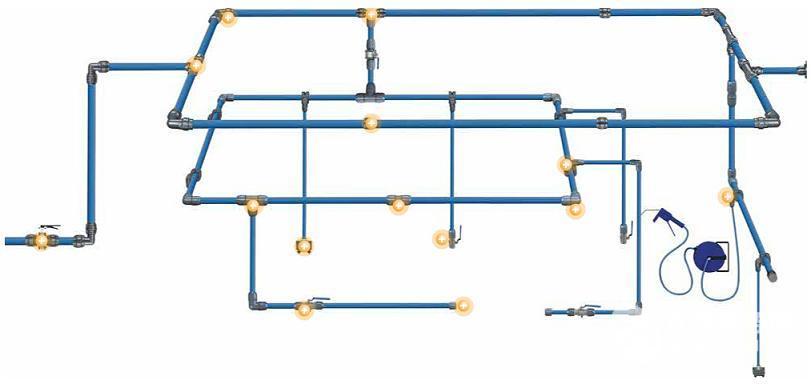 铝合金压缩空气管道_中国上海_阀门|管件-食品商务网
