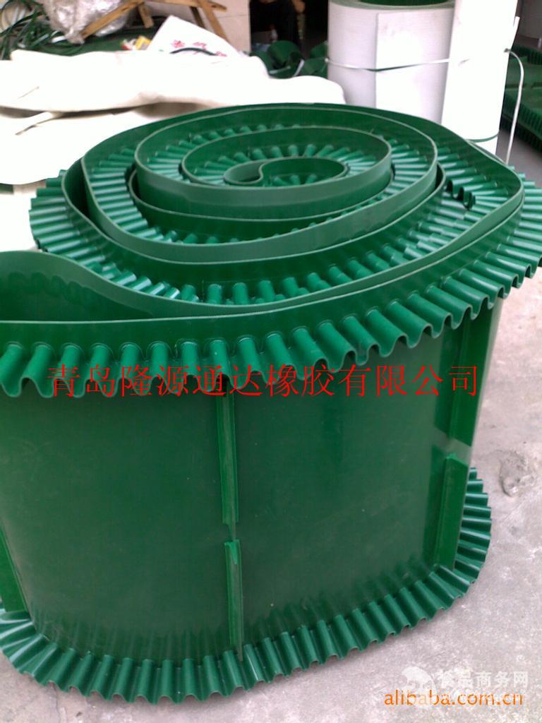 大倾角输送带厂家青岛隆源橡胶品质保证