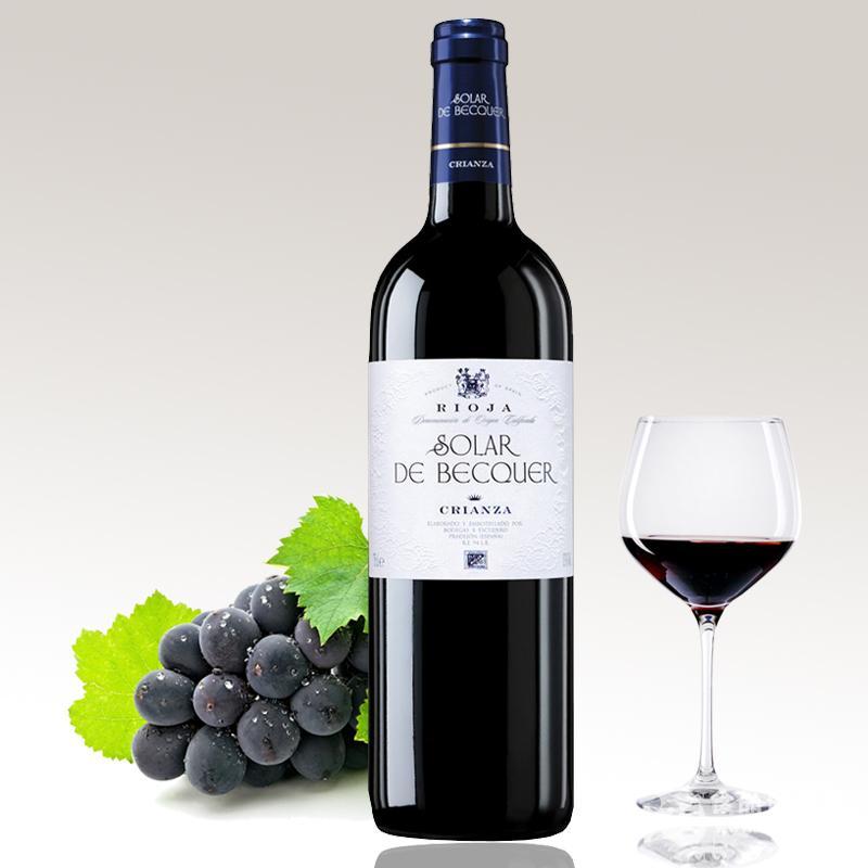 西班牙进口红葡萄酒百奎阳光陈酿DOC级包邮