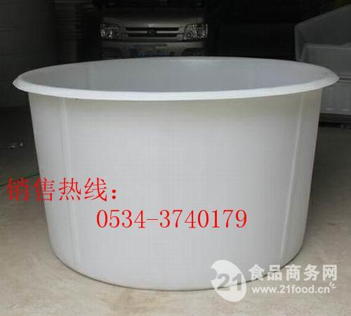 工厂直销,1吨2吨3吨4吨5吨敞口塑料缸/食品腌制塑料大桶,