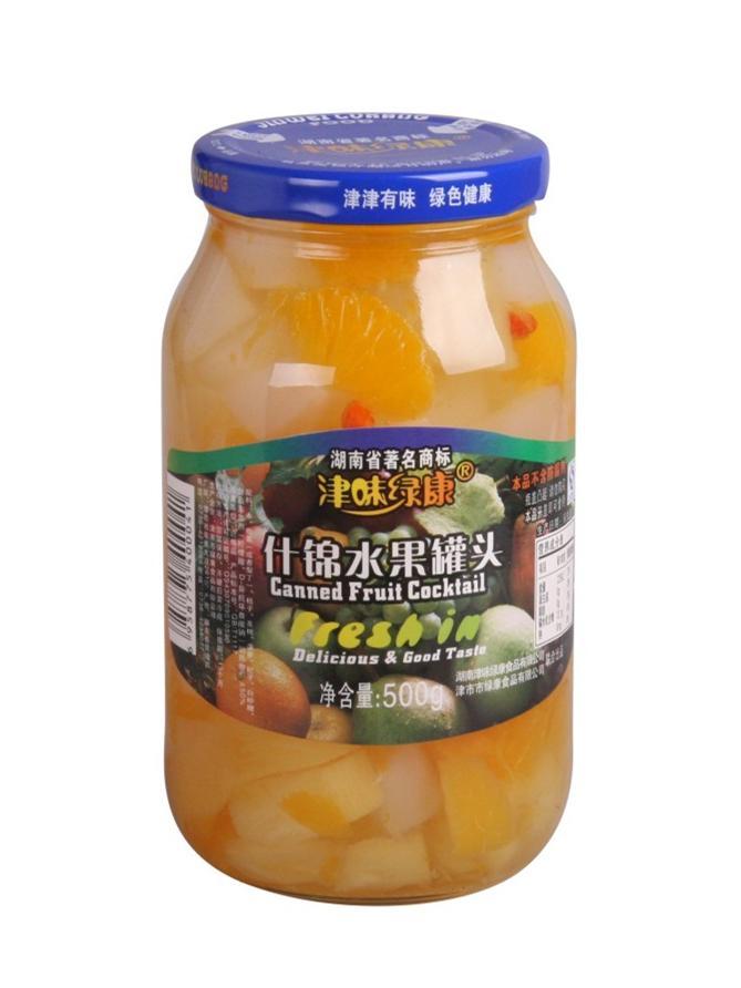 如何挑选水果罐头