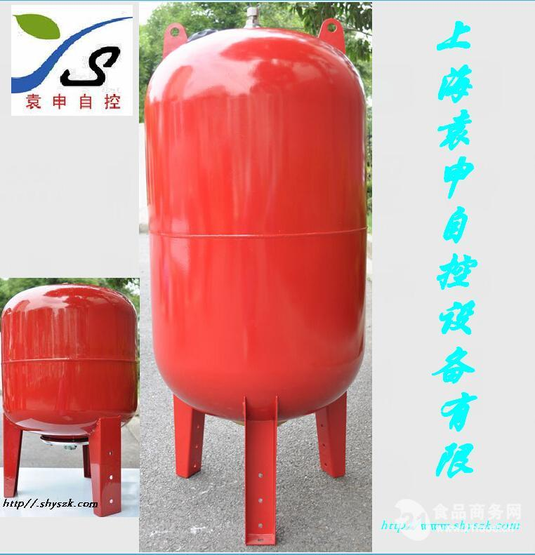 4消防气压罐的规格 不锈钢隔膜气压罐选型表图片