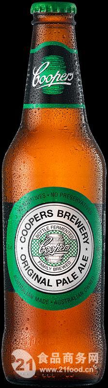 库柏斯绿牌啤酒