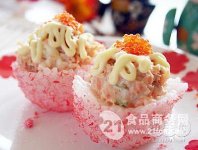 风格 日本 无锡市/寿司是在饭里放醋做主材料的日本料理,味道鲜美,很受日本民众...
