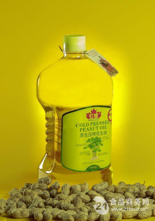 玉金香小榨花生油凉拌玻璃瓶礼品装团购招商