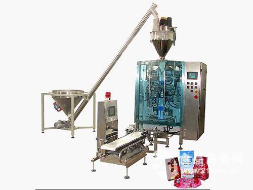 奶粉全自动计量包装机组