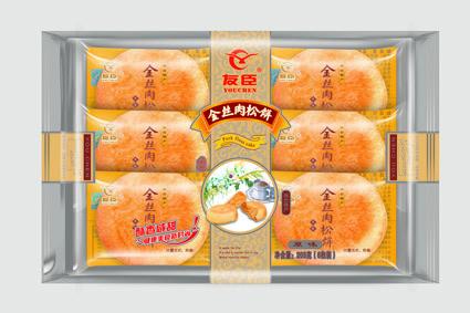 2.5kg散装金丝肉松饼
