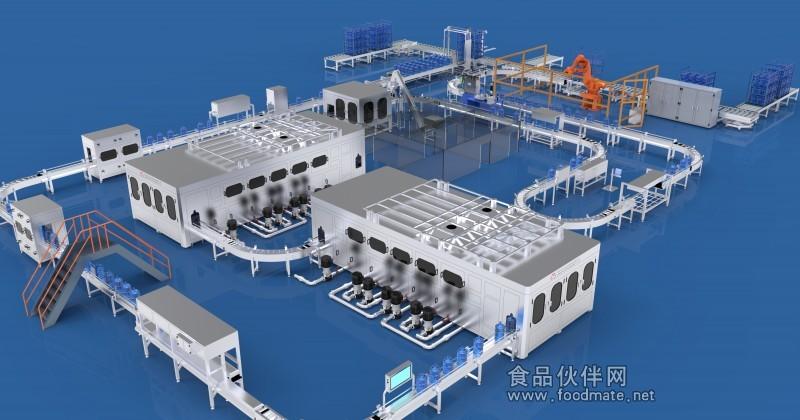 桶装水灌装机线_中国广东深圳