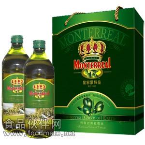 *蒙特垒橄榄油,蒙特垒特级初榨橄榄油简装礼盒500ml*2