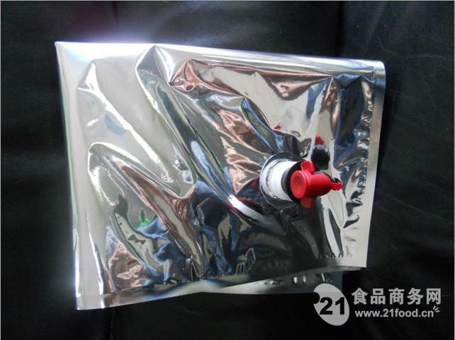 5l10l 苏打水铝箔纸盒包装袋,可配卡扣