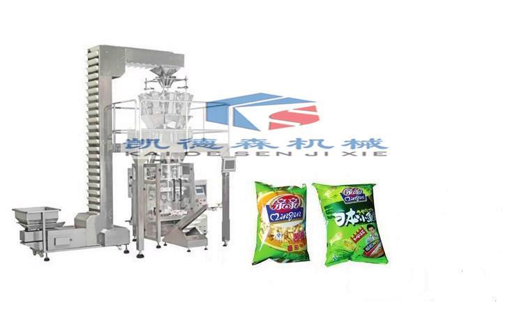 薯片食品包装机颗粒定量包装机