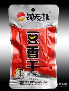 钟无极豆香干麻辣味25g