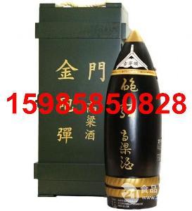 台湾炮弹金门高粱酒2公升木箱礼盒酒