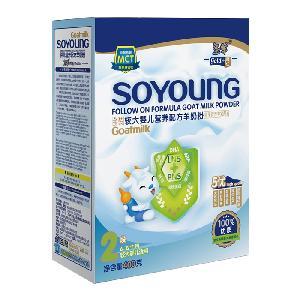 圣羊婴幼儿2段配方羊奶粉