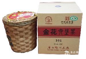 三鹤牌金花101六堡茶