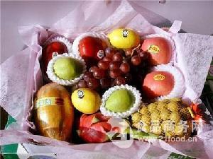 锦绣田园高档水果礼盒