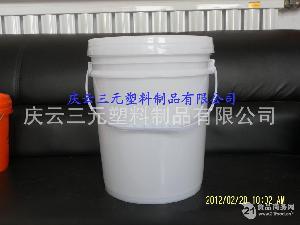 25升25L螺旋盖塑料桶