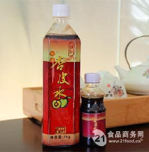恒记 浓缩杏皮水1KG 杏皮茶 天然浓缩果汁饮品 10倍浓缩冲调饮料
