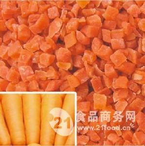 糖渍胡萝卜丁