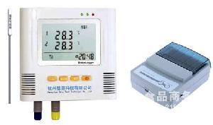 药品冷藏车专用电子温度仪带打印带显示