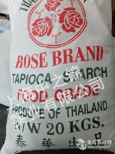 泰国玫瑰牌木薯淀粉泰华出品(20公斤/袋 食品级)