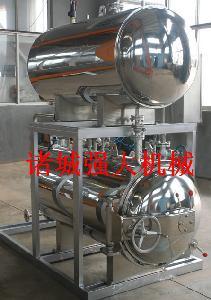 强大机械休闲食品高温高压喷淋杀菌锅