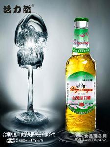 活力龙啤酒 玻璃瓶