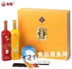 龙樽朱鹮黑米酒礼盒