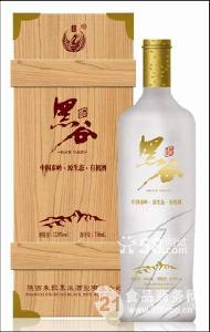 木盒朱鹮黑米酒