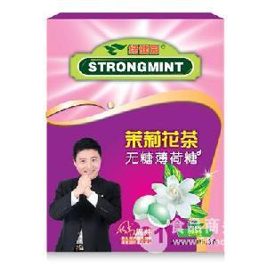 无糖薄荷糖24粒装 茉莉花茶味
