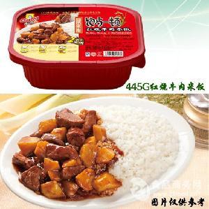 厨师牌红烧牛肉自热米饭