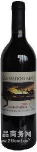 袋鼠酋长卡本内美乐干红葡萄酒