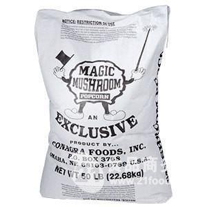 美國魔术蘑菇球形爆米花玉米