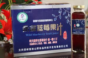 永富蓝莓方瓶果汁420ml
