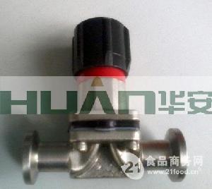 不锈钢盖米DN8快装隔膜阀