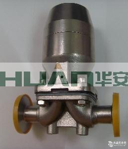 不锈钢盖米气动快装隔膜阀