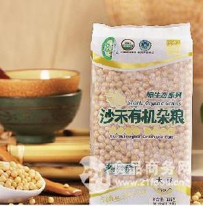 沙禾 绿色 有机大豆 真空包装