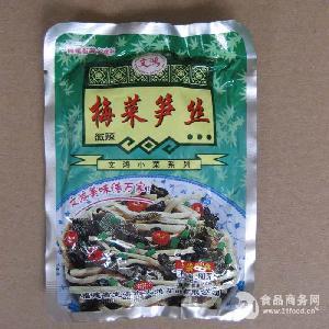 文鸿梅菜笋丝80g 微辣