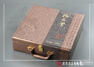 批发海参木盒海参包装盒海参内盒配套手提袋包物流