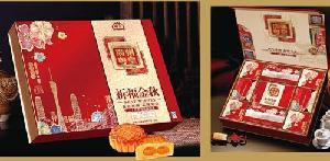 粤皇祈福金秋月饼礼盒900克