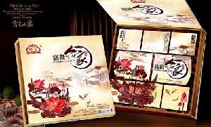 粤皇富贵人家月饼礼盒750克